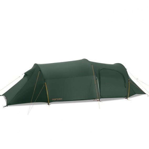 Nordisk Oppland 3 LW SI leichtes Camping Tunnelzelt 3 Personen forest green hier im Nordisk-Shop günstig online bestellen