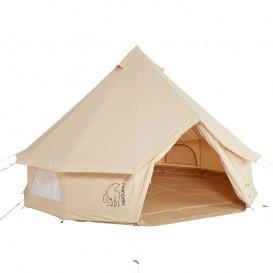 Nordisk Asgard 12.6 Basic Cotton Tent Baumwoll Gruppenzelt Tipi für 1-6 Personen