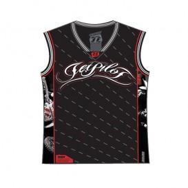 Jetpilot Min Dog MX T-Shirt Herren schwarz