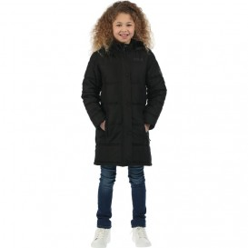 Regatta Winter Hill Kinder Wintermantel Steppmantel Winterjacke black