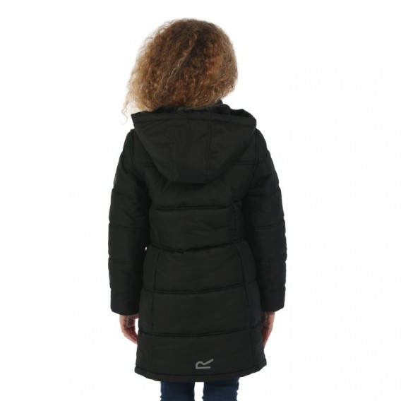 Regatta Winter Hill Kinder Wintermantel Steppmantel Winterjacke black hier im Regatta-Shop günstig online bestellen