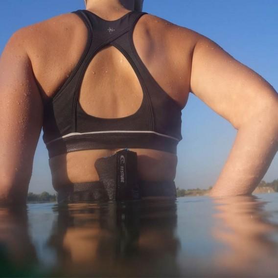 Restube Swim Rettungssystem Auftriebs Schwimmkörper honey black oasis hier im RESTUBE-Shop günstig online bestellen