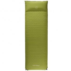 Nordisk Bornholm 10.0 cm selbstaufblasende Camping Isomatte grün