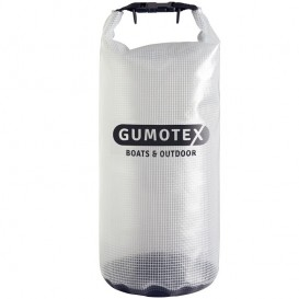 Gumotex Dry Bag wasserdichter Packsack Transparent 20L