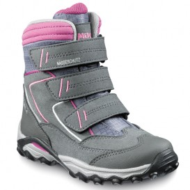 Meindl Snowplay Pro Junior Kinder Outdoor Winterstiefel grau-rosé