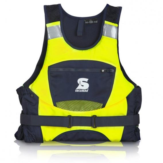 Secumar Jump Pro Schwimmweste Schwimmhilfe 30kg-120kg neongelb hier im Secumar-Shop günstig online bestellen