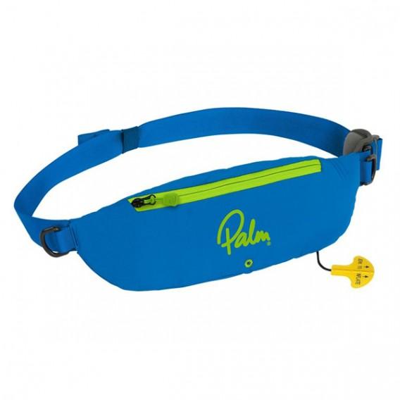 Palm Glide selbstaufblasende Schwimmweste im Hüftgurt blau hier im Palm-Shop günstig online bestellen