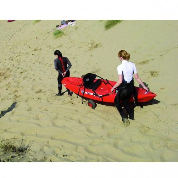 Eckla Top 260 Transportwagen für Sit on Top Boote pannensichere Bereifung hier im Eckla-Shop günstig online bestellen