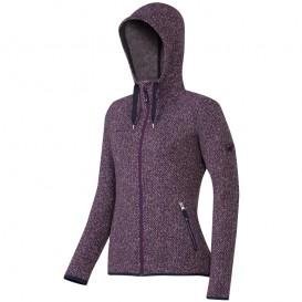 Mammut Kira Tour ML Hooded Jacket Damen Fleecejacke Strickoptik velvet im ARTS-Outdoors Mammut-Online-Shop günstig bestellen