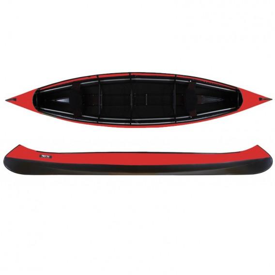 Triton Advanced Canoe Faltboot Kanadier Set mit 2 teilbaren TNP Stechpaddeln hier im Triton-Shop günstig online bestellen