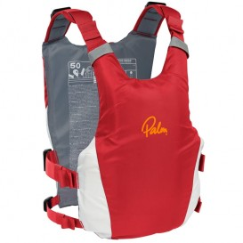Palm Dragon PFD Tourenweste Schwimmweste Paddelweste red-white
