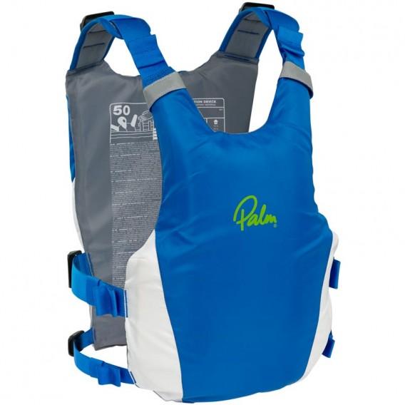 Palm Dragon PFD Tourenweste Schwimmweste Paddelweste blue-white hier im Palm-Shop günstig online bestellen