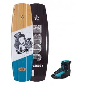 Jobe Maddox Wakeboard Set 138 und Bindung