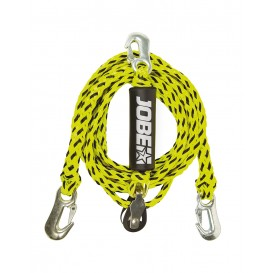 Jobe WaterSports Bridle with Pulley 12ft 2 Personen Schleppdreieck
