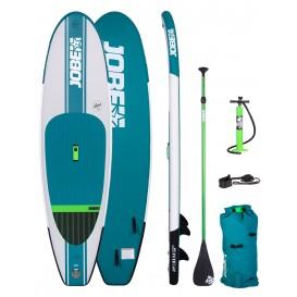 Jobe Lika 9.4 SUP aufblasbar Stand Up Paddle Board Set mit Paddel + Tasche + Pumpe