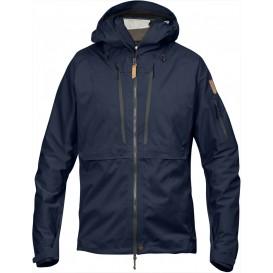 FjällRäven Keb Eco-Shell Jacket Herren Trekking Jacke dark navy im ARTS-Outdoors Fjällräven-Online-Shop günstig bestellen