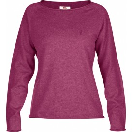 FjällRäven Övik Sweater W. Damen Outdoor Sweater plum im ARTS-Outdoors Fjällräven-Online-Shop günstig bestellen