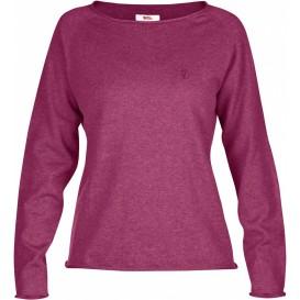 FjällRäven Övik Sweater W. Damen Outdoor Sweater plum im ARTS-Outdoors Fjällräven-Online-Shop günstig bestellen