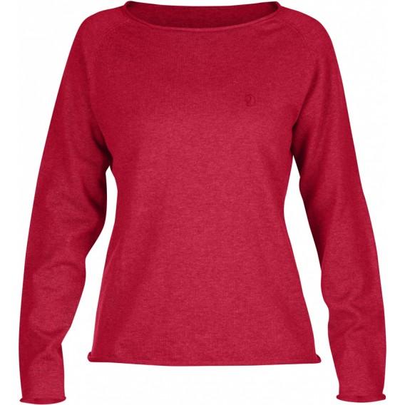 d0fc63d8525e FjällRäven Övik Sweater W. Damen Outdoor Sweater coral im ARTS-Outdoors  Fjällräven-Online