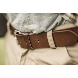 FjällRäven Singi Belt 2,5 cm. Unisex Outdoor Gürtel leather brown im ARTS-Outdoors Fjällräven-Online-Shop günstig bestellen
