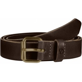 FjällRäven Singi Belt 2,5 cm. Unisex Outdoor Gürtel leather brown