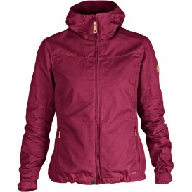 FjällRäven Stina Jacket Damen Outdoor Jacke plum im ARTS-Outdoors Fjällräven-Online-Shop günstig bestellen
