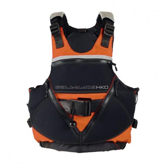 Hiko Salty Dog Wildwasser Schwimmweste Paddelweste fluo orange hier im Hiko-Shop günstig online bestellen