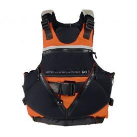 Hiko Salty Dog Wildwasser Schwimmweste Paddelweste fluo orange
