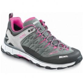 Meindl Lite Trail GTX(R) Damen Trekkingschuhe Trailrunningschuhe anthrazit-pink