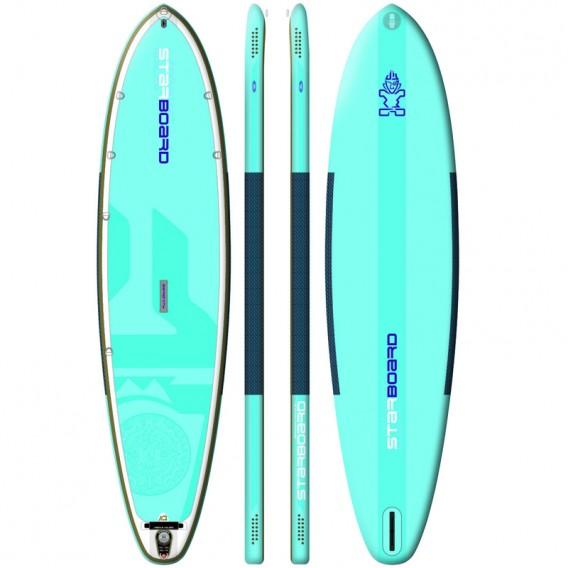 Starboard Inflate Serenity Blend aufblasbares Stand Up Paddle Board mit Pumpe im ARTS-Outdoors Starboard-Online-Shop günstig bes