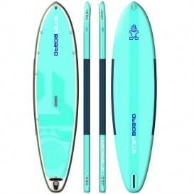 Starboard Inflate Serenity Blend aufblasbares Stand Up Paddle Board mit Pumpe