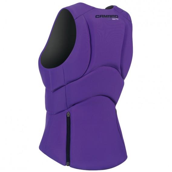 Camaro Impact Vest Pro Damen Prallschutzweste Wendeweste lila-schwarz hier im Camaro-Shop günstig online bestellen