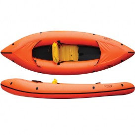 Nortik Family Raft Rafting Boot orange schwarz