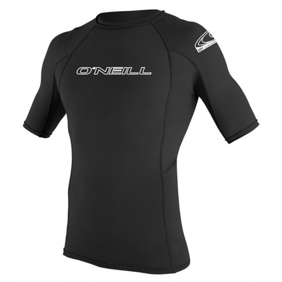 ONeill Basic Skins S/S Crew Herren Rashguard Shortsleeve Black hier im ONeill-Shop günstig online bestellen