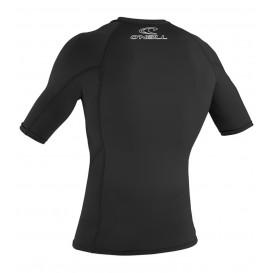 ONeill Basic Skins S/S Crew Herren Rashguard Shortsleeve Black im ARTS-Outdoors ONeill-Online-Shop günstig bestellen