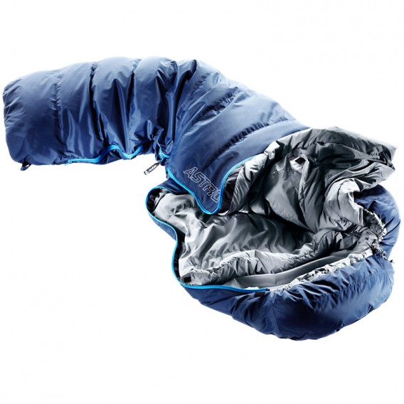 Deuter Astro 400 L Mumien Daunenschlafsack Extra Lang midnight hier im Deuter-Shop günstig online bestellen