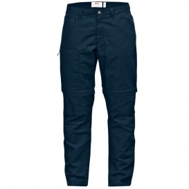 FjällRäven High Coast Trousers Zip Off Damen Trekkinghose navy