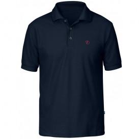 Fjällräven Crowley Pique Shirt Herren T-Shirt blueblack hier im Fjällräven-Shop günstig online bestellen