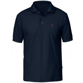 Fjällräven Crowley Pique Shirt Herren T-Shirt blueblack im ARTS-Outdoors Fjällräven-Online-Shop günstig bestellen