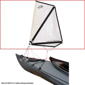 Nortik Kayak Sail 0.8 Faltboot Kajak Besegelung inkl. Installationskit hier im NORTIK-Shop günstig online bestellen