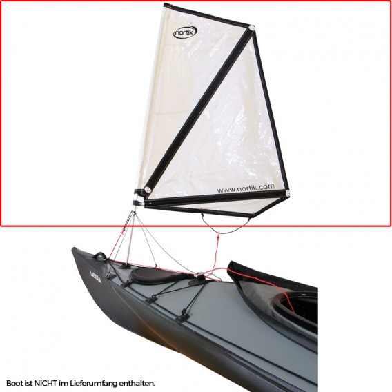 Nortik Kayak Sail 1 Festboot Kajak Besegelung inkl. Installationskit hier im NORTIK-Shop günstig online bestellen