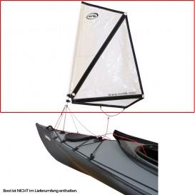 Nortik Kayak Sail 1 Festboot Kajak Besegelung inkl. Installationskit im ARTS-Outdoors NORTIK-Online-Shop günstig bestellen