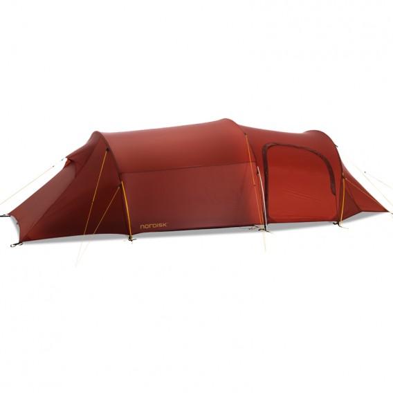 Nordisk Oppland 3 LW SI leichtes Camping Tunnelzelt 3 Personen burnt red hier im Nordisk-Shop günstig online bestellen