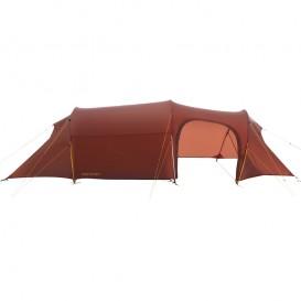 Nordisk Oppland 3 LW SI leichtes Camping Tunnelzelt 3 Personen burnt red im ARTS-Outdoors Nordisk-Online-Shop günstig bestellen