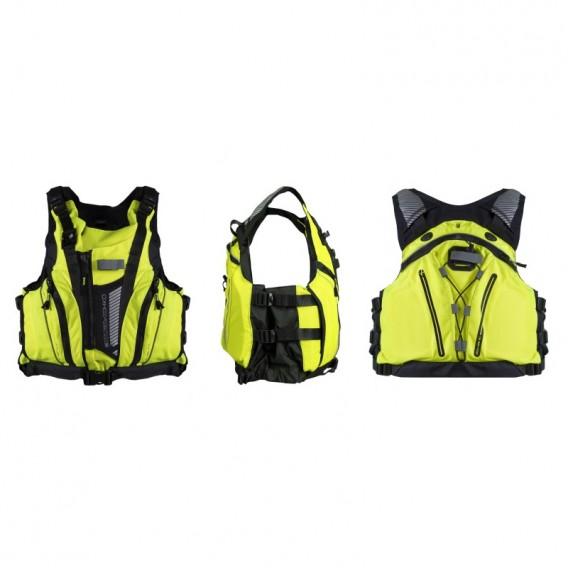 Hiko Aquatic Schwimmweste Rettungsweste Paddelweste reflective yellow hier im Hiko-Shop günstig online bestellen