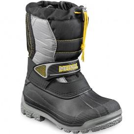 Meindl Snowy 3000 Kinder Outdoor Winterstiefel granit-schwarz