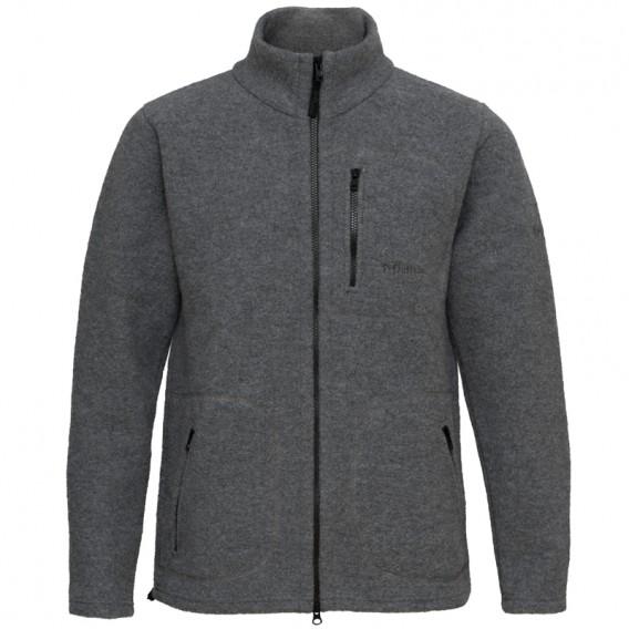 Mufflon Klaas Herren Merino Jacke grey hier im Mufflon-Shop günstig online bestellen