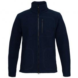 Mufflon Klaas Herren Merino Jacke nachtblau hier im Mufflon-Shop günstig online bestellen