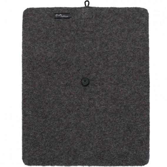 Mufflon Bo Merino Sitzkissen granit hier im Mufflon-Shop günstig online bestellen
