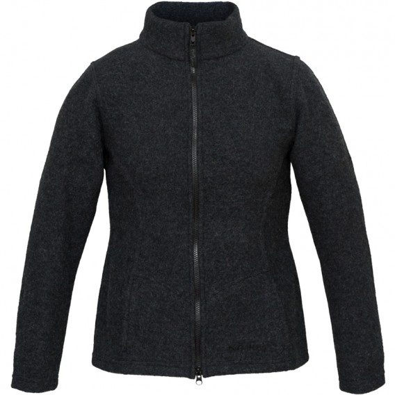 Wolljacke damen anthrazit